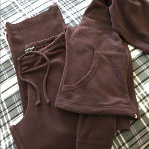 Pants - Velour Jog Suit / Sweat Suit